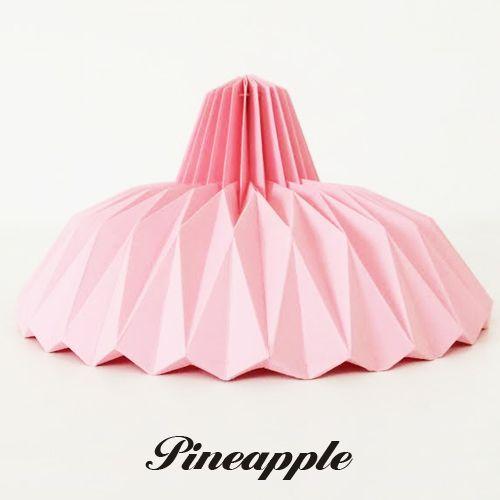 As Luminárias da Torradeira - Luminárias de Origami para Decoração ...
