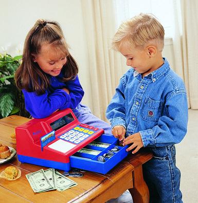 Registratore di cassa LR.  Apprendere l'uso del denaro e calcolare con il registratore di cassa LR. diventa  molto semplice e  divertente. http://www.giocotherapy.it/34-manipolare-leuro
