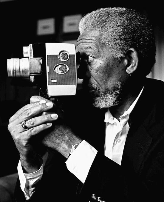 Morgan Freeman by Patrick Bradley