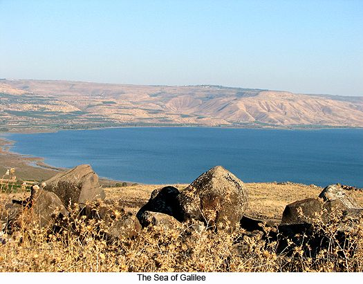 sea of galilee | The Sea of Galilee, photograph