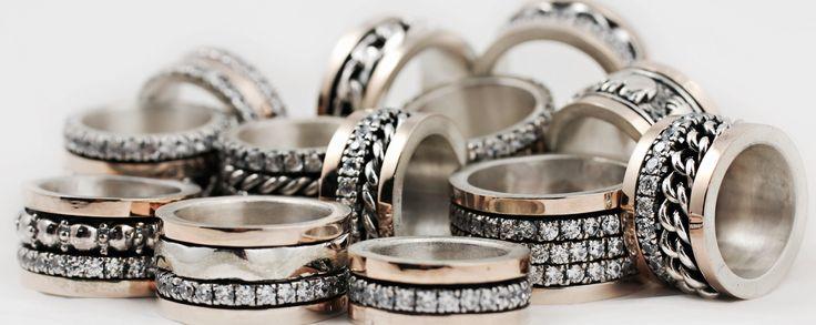 Alianças Anti-Stress em Prata e Ouro. Encomendas: info@art-argentum.com
