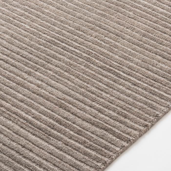 Ribbed Wool Rug - Stone   Wool rug, Rugs, Staple pieces