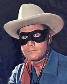 Clayton Moore  in The Lone Ranger