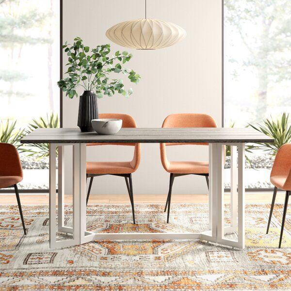Bring A Streamlined Style To Your Space With This Collapsible Dining Table Crafted Of Manufactured Woo In 2020 Dining Table Drop Leaf Dining Table Dining Table Marble