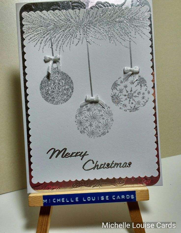 Chloe bauble stamps