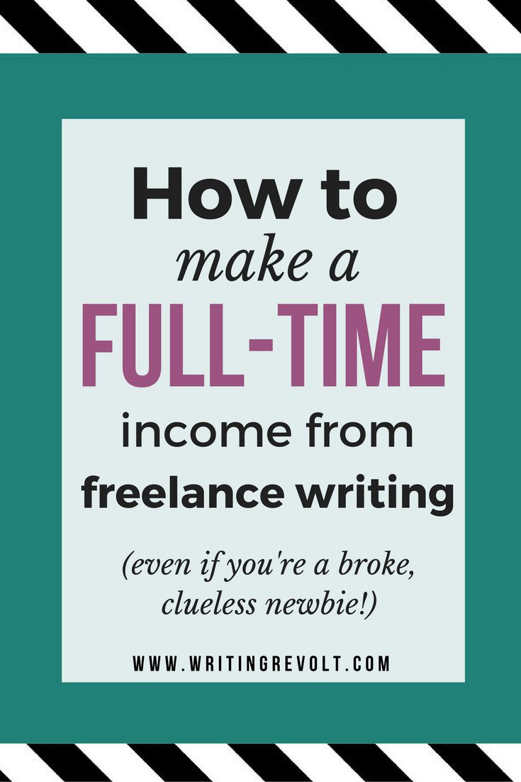 freelance writing for money online