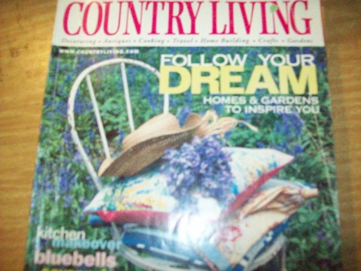 country living magazine back issue april