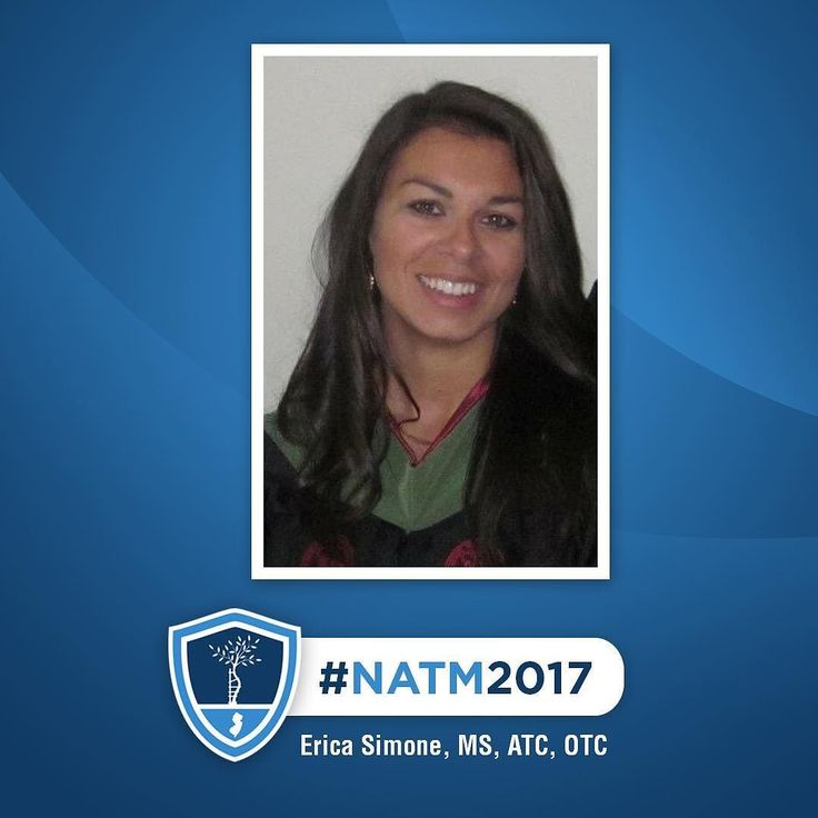 For our final ATC feature of #NATM2017 meet Erica Simone MS ATC OTC!  Erica Simone joined #NJOI as a Physician Extender in August 2014. Working with Dr. Scillia she is proficient in #injury evaluation and patient education in regards to diagnosis and treatment. She also assists with surgical scheduling. She has an orthopedic technologist certification (OTC) which includes knowledge of bracing casting and surgical assistant #skills.  Prior to NJOI Erica worked as a Physician Extender from…