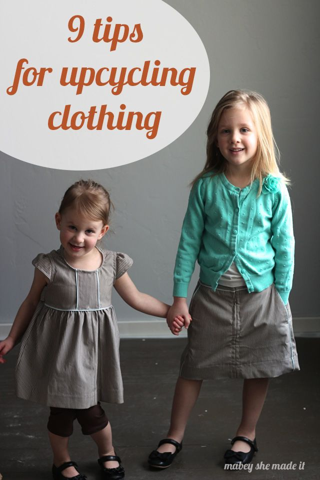 These 9 tips for upcycling clothes will help you feel confident in making the most of clothing you already own. Give something new life by upcycling clothes!