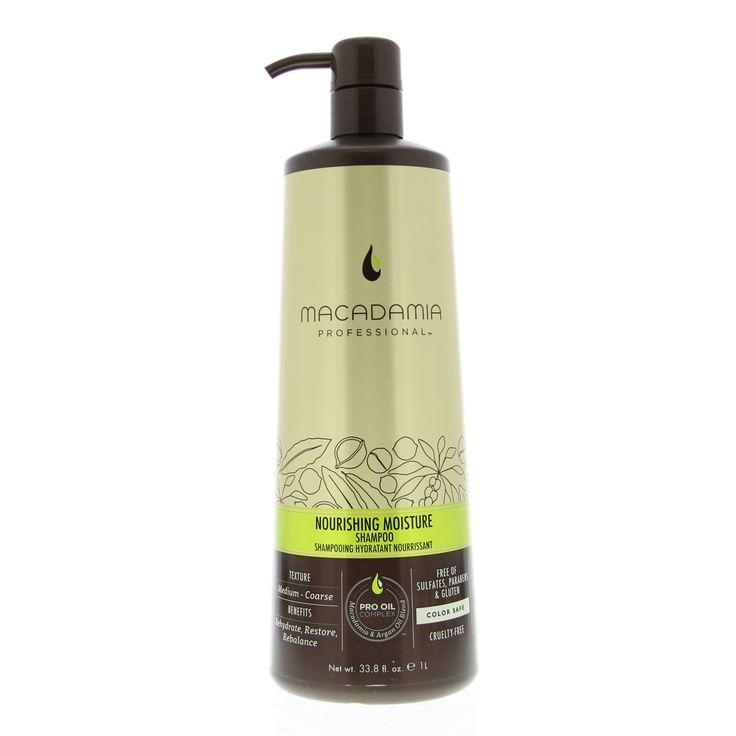 Macadamia Nourishing Moisture Shampoo Droog/Stug Haar 1000ml  Description: Macadamia Nourishing Moisture Shampoo.Deze shampoo voedt en hydrateert het haar. Na gebruik is het haar herstelt en versterkt. De kleur van het haar wordt behouden door de zachte reiniging. Bevat Macadamia olie Argan olie Avocado en Hazelnoot olie.Gebruik: Aanbrengen op nat haar. Inmasseren en goed uitspoelen.  Price: 36.40  Meer informatie