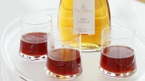 Hennessy Fine de Cognac Summer tea - RTE Food