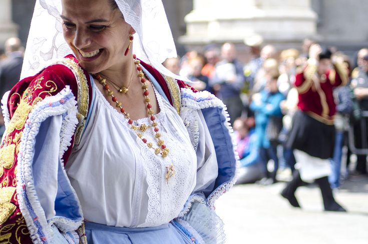 The Festival of Saint Efisio is the most magnificent of Sardinia, as well as the most important festival of Mediterranean area with respect to its length (over 80 Km) and the villages represented by their typical costumes. It covers the period from 1 to 4 May and stretches along a route with specific stages, from Cagliari to Nora and back.
