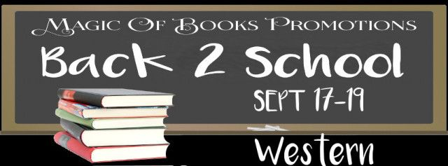 REJOICE! The children are back in school.For those who live to readhere are some awesome books provided by the incredible authors who wrote them. All in celebration of the new school year.  While a few of these books might be oldies but goodiesothers could be new and fresh off the presses.  Relax and find your new favorite author.       WESTERN  Western in traditional literary terms is a genre of various arts which tell stories set primarily in the later half of the 19th century in the…
