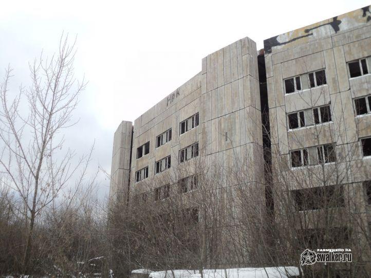 Недостроенная психиатрическая больница (Версия 2), Московская область