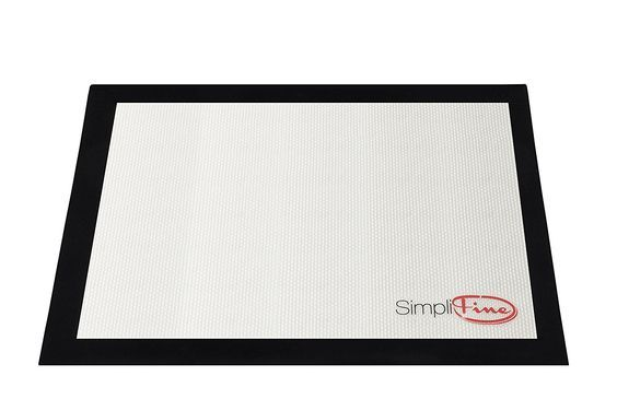 SimpliFine Baking Liner, Reusable Silicone Baking Mat Sheet Professionals Prefer, Best Half Size Heat Resistant Mat, Promote Healthy Baking with This Fantastic Pastry and Cookie Sheet Bakeware, Non-Slip Baking Pan Liner for the Gourmet Baker In You *** Continue to the product at the image link.