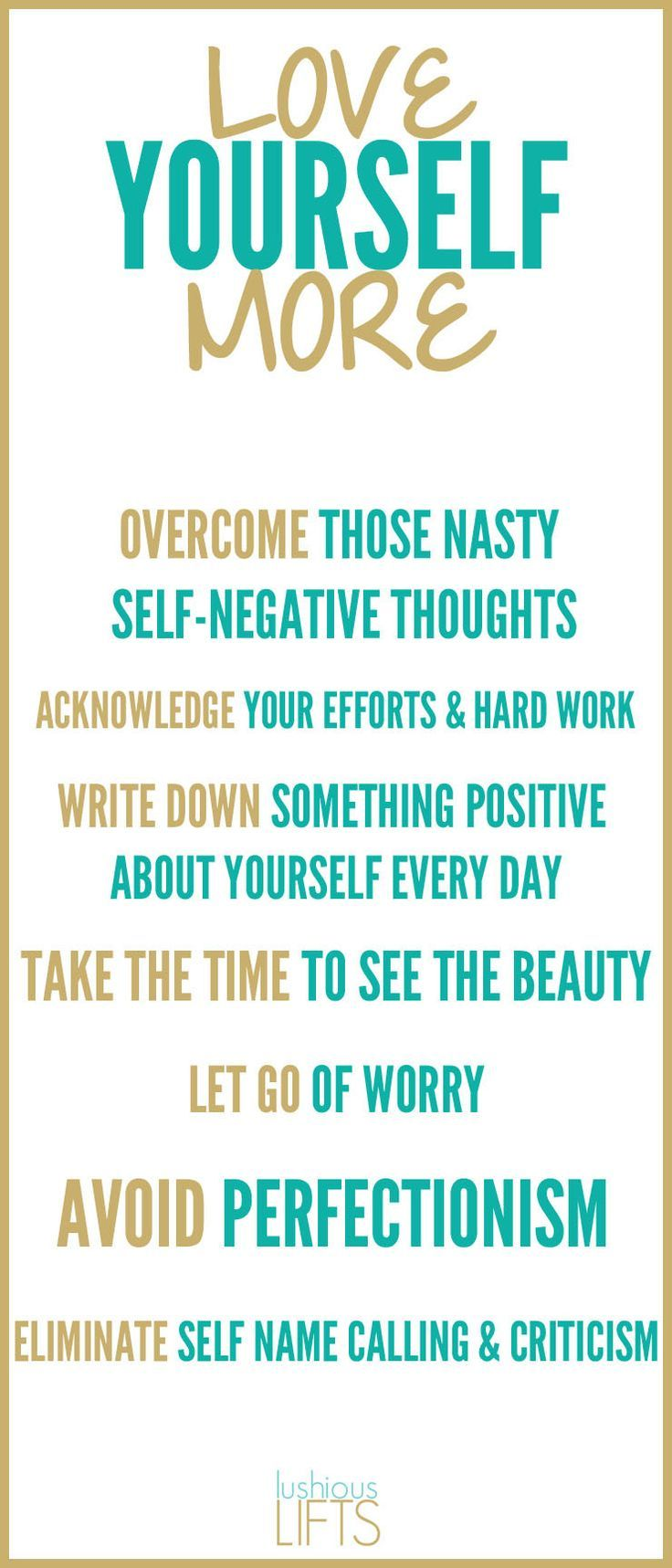 Learning to Love Yourself More; Gain confidence, improve self-love and create happiness!