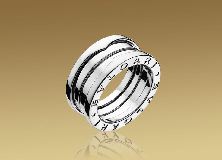 bvlgari ring in white gold