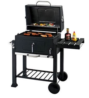 I think this is going to be my new grill when I move into my new house. While, I love my little Weber kettle, I think this one would be more versatile.