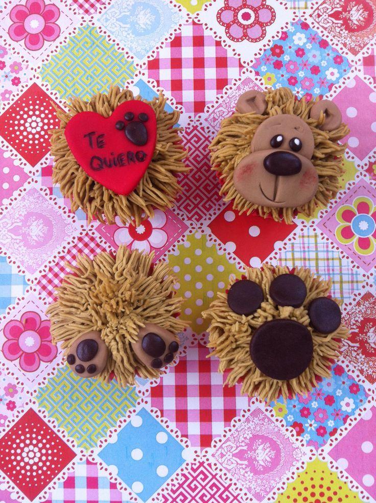Osito cupcake