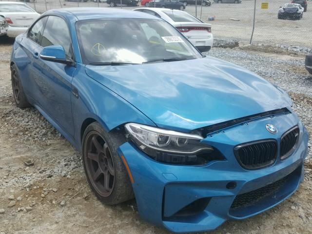 Salvage 2017 Bmw M2 Salvage Cars Super Cars Bmw M2