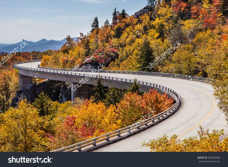 Blue Ridge Parkway At Fall Stock Photo 356840606 : Shutterstock