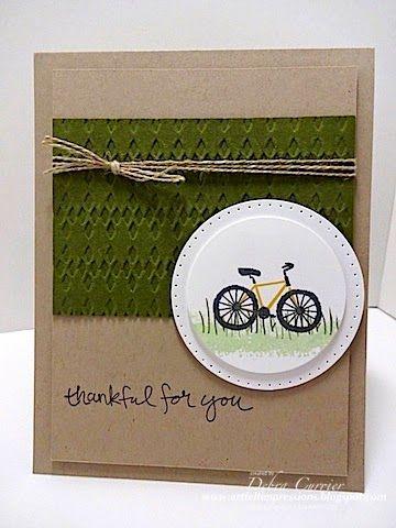 230 best sports cards images on pinterest basketball birthday saturday january 2015 artfelt impressions sheltering tree circles framelits essentials paper piercing pack stampin up m4hsunfo