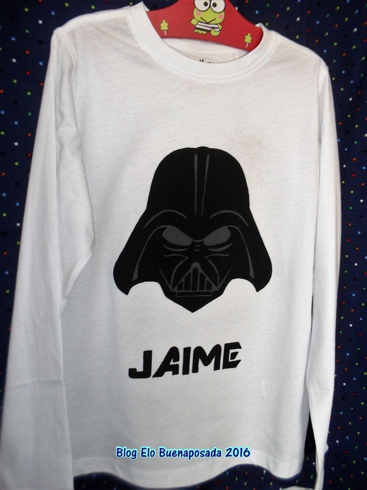 Darth Vader camiseta patchwork