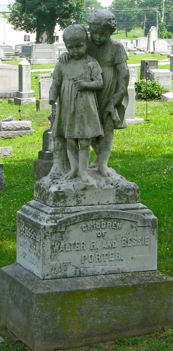 Children of Walter and Bessie Porter...WHAT A SAD TIME THAT WAS WHEN CHILDREN DIED SO EASILY...LB