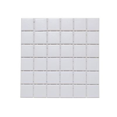 Dal Tile - 2 In.x 2 In. Matte White Mosaic - 650122HD1P2 - Home Depot Canada