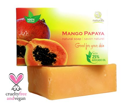 MANGO PAPAYA SOAP BAR  Give your skin a delicious treat with our mild and soothing soap bar, made with Avocado and Coconut oils, your skin will be left soft and smooth. Let juicy Mango & Papaya take you on an exotic get-away!