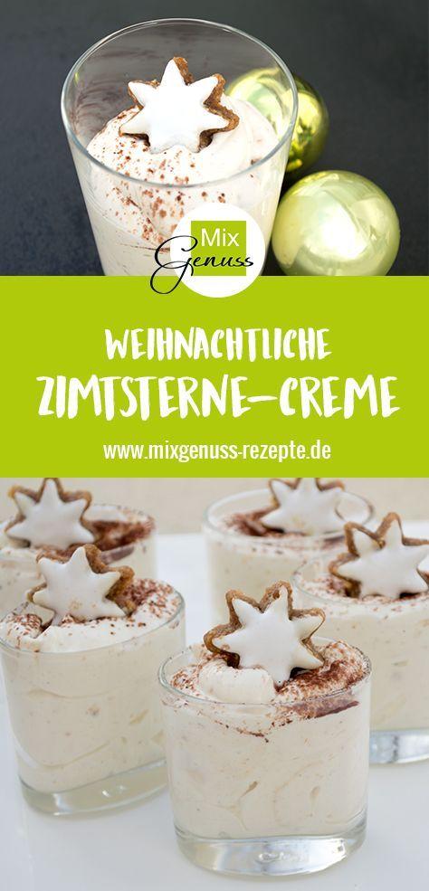Zimtsterne-Creme – MixGenuss Blog