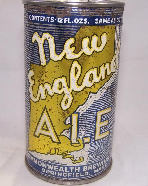 New England Ale, Lilek # 579. Grade 1- – Beer Cans Plus