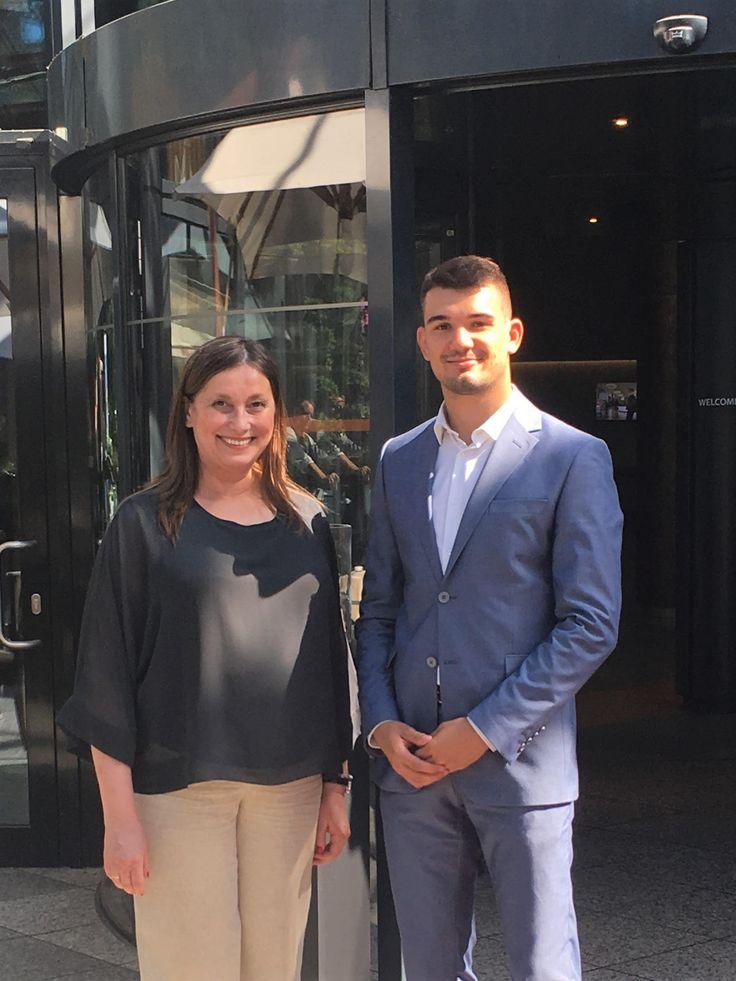 Filip Jelavić i Mirjana Aćimović