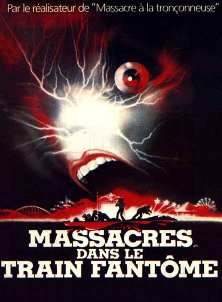 massacre dans le train fantôme AFFICHE | SensCritique Films Epouvante-horreur Massacres dans le train fantôme