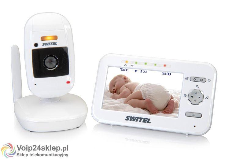 Elektroniczna niania z kamerą Switel BCF 986 #elektronicznaniania #switel #wideoniania #babymonitor