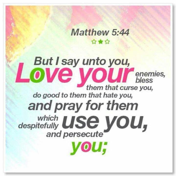 Mathew  5:44