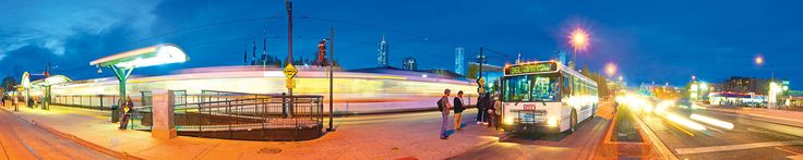 RTD Light rail system to suburbs/around Denver