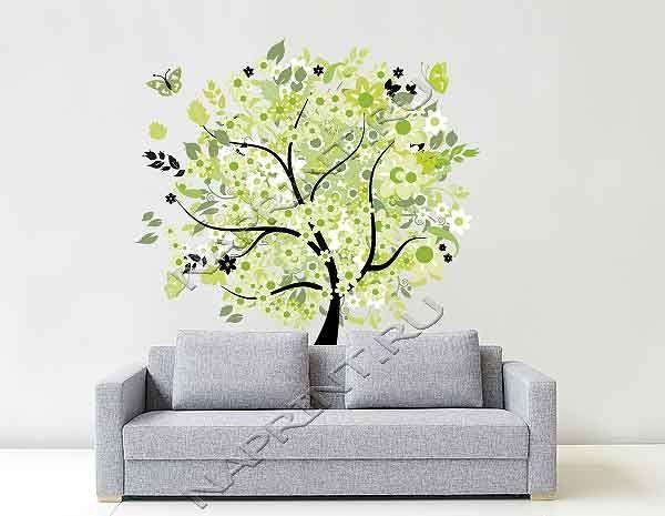 Наклейка на стену сказочное дерево