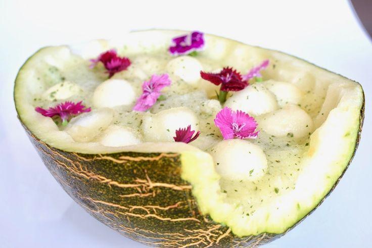 Postre refrescante de melón https://mycook.es/receta/postre-refrescante-de-melon