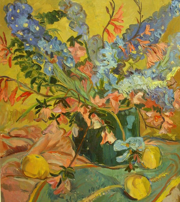 'Bowl of Flowers' by Irma Stern (1946)