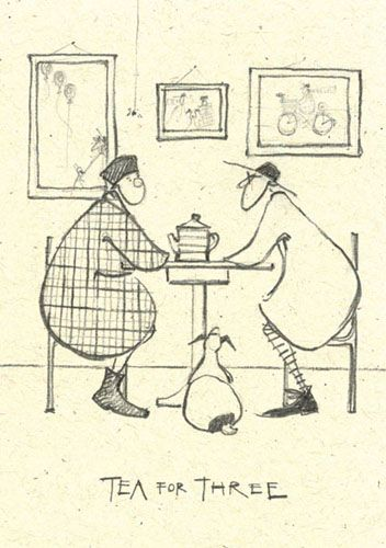 'Tea for Three' by Sam Toft (st36)