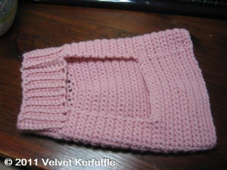 Free Crochet Pattern Cat Sweater : Mock Turtleneck Sweater for Cats or Dogs - free pattern ...