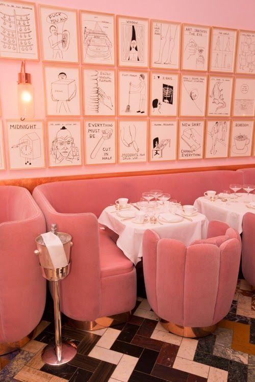 pink tea room london -  www.SaintEvolution.com