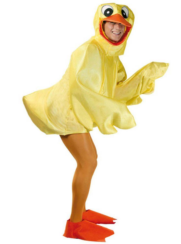 Disfraz de patito amarillo de bañera para hombre y para mujer