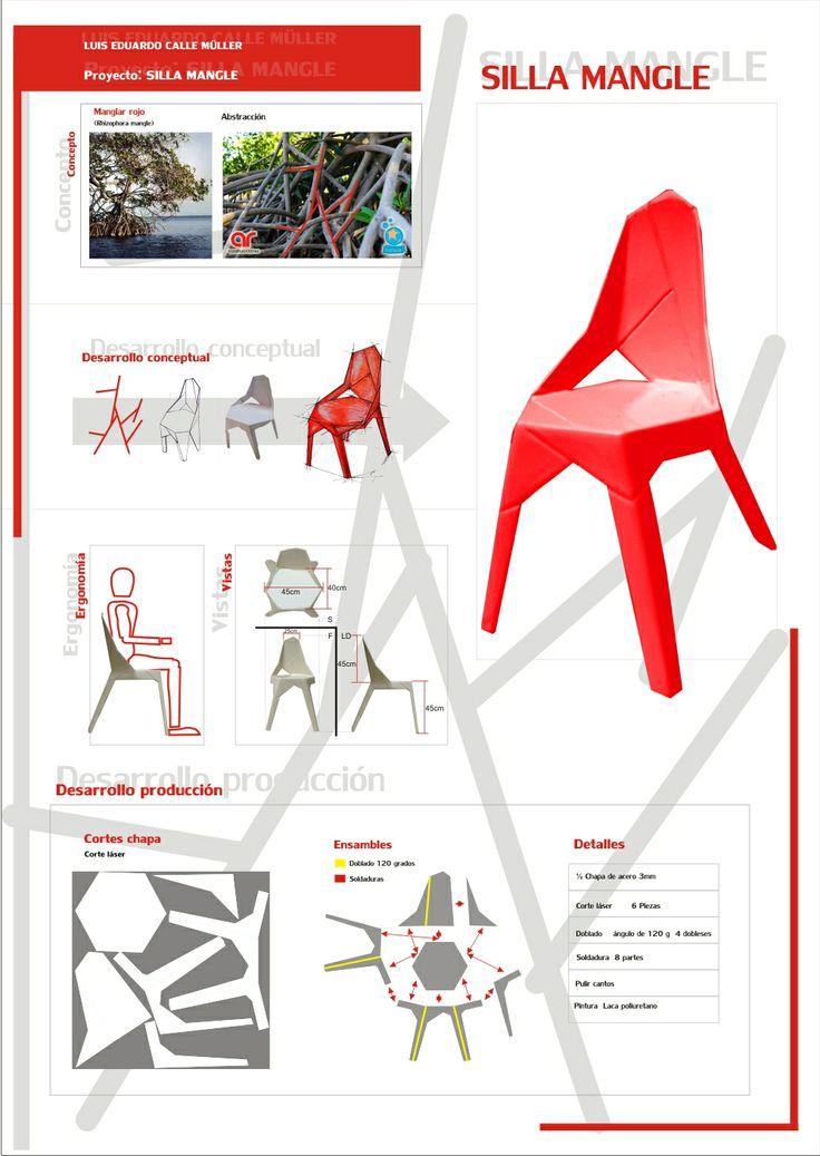 silla inspirada en el Mangle Rojo