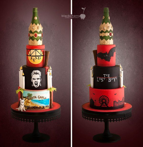 The Lost Boys Cake #Horror