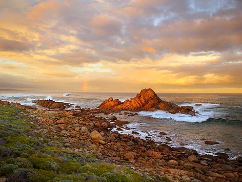 Sugarloaf Rock sunset - Margaret River Region, Western Australia