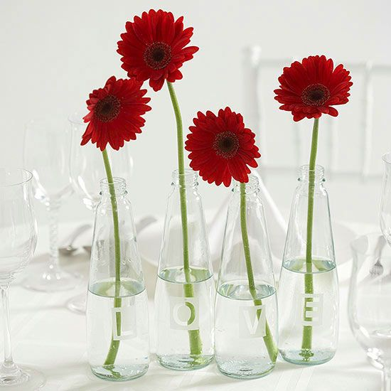 Easy to make wedding centerpieces vase