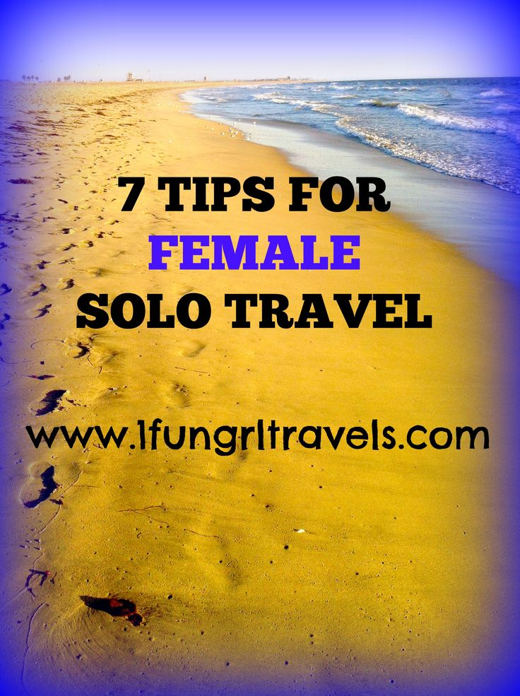 Check out my website for great tips on traveling alone as a woman! www.1fungrltravels.com