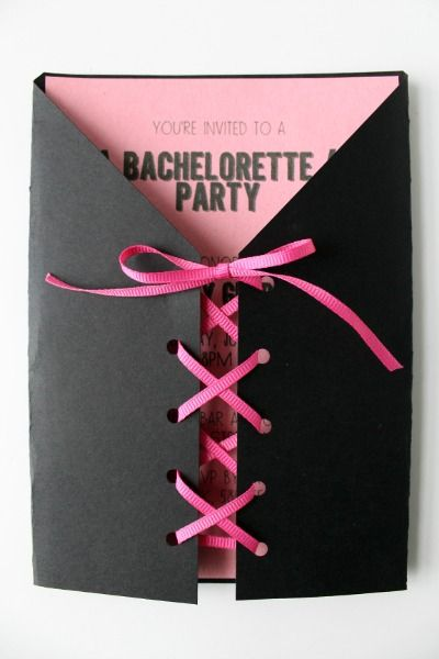 Best 25+ Corset invitations ideas on Pinterest Bachlorette party - bachelorette invitation template